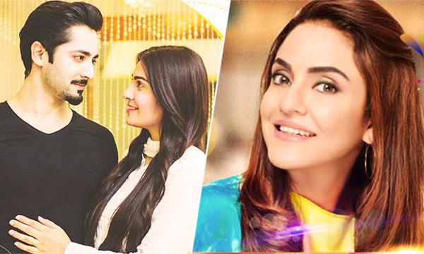 Danish and Aiza on Nadia Khan Show