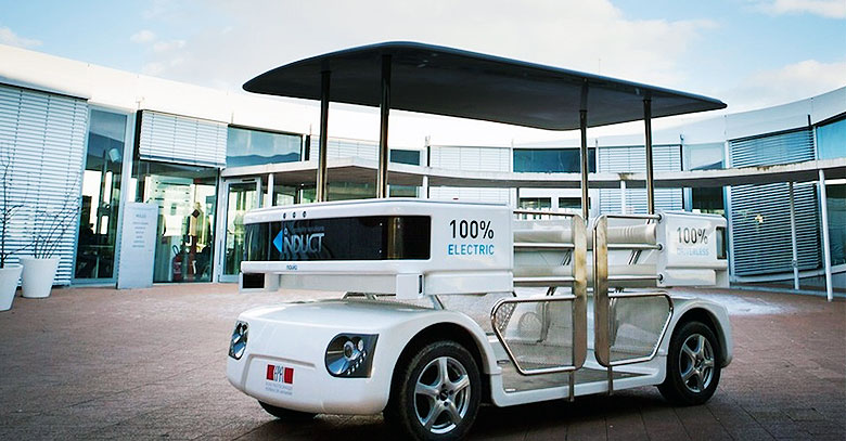 Navia Shuttle Worlds First Commercially Available Self Driving Car