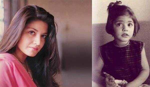 nazia-hassan childhood picture
