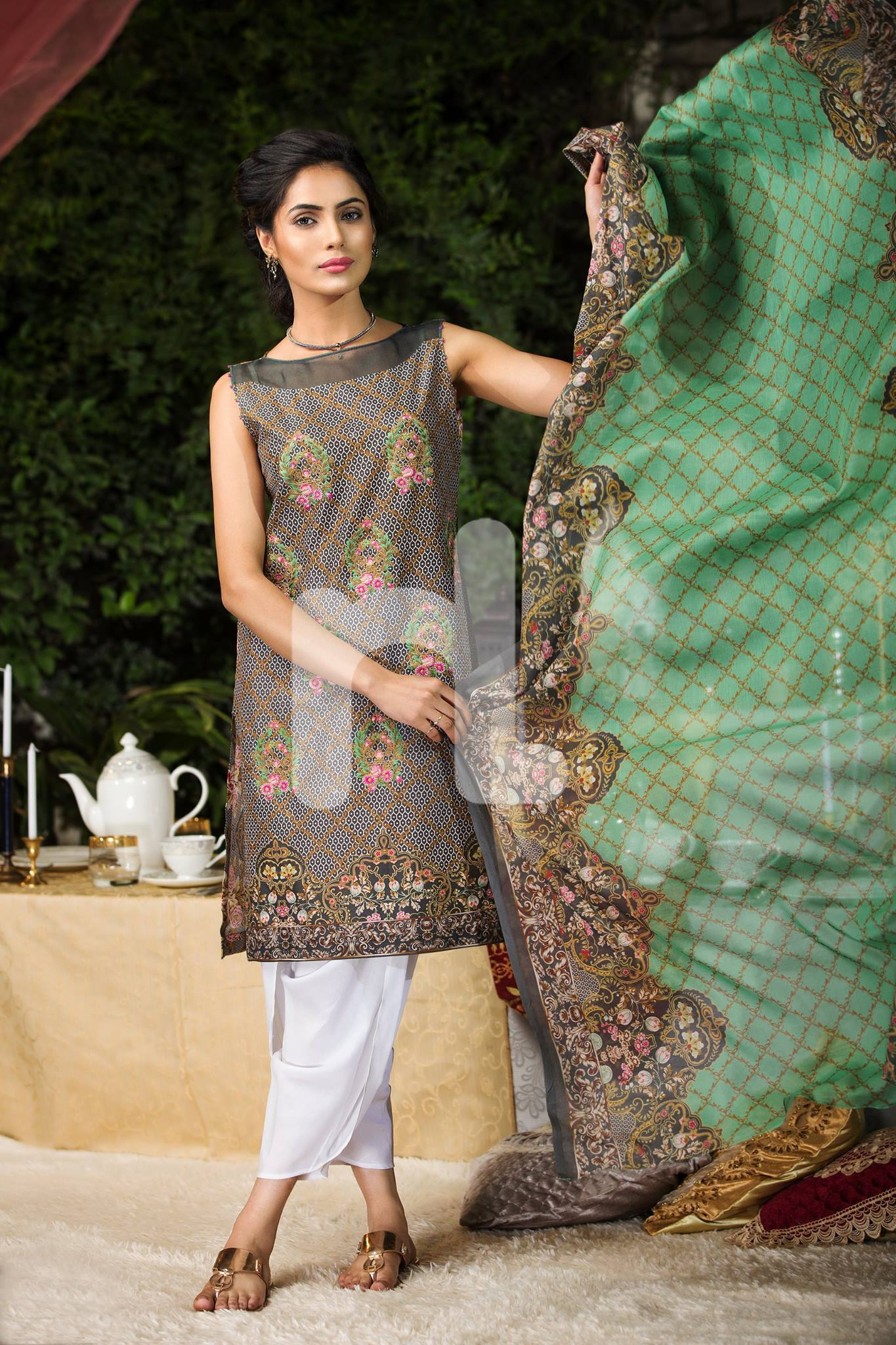eid collection by nishat Here are represented the latest nishat linen eid sale 2018 with price for women wear with pricebeat the winter blues with the vivid and exotic hues of nishat linen ready-to-wear collection with price latest dresses catalog.