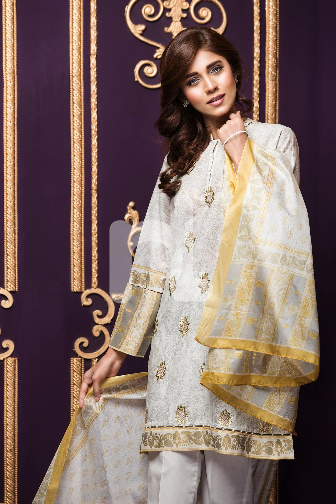 31a56e1413 Nishat Linen, a favorite amongst Pakistani women has shared a few looks  from its Eid Pret Wear 2016. The Collection will be available nationwide  from May ...