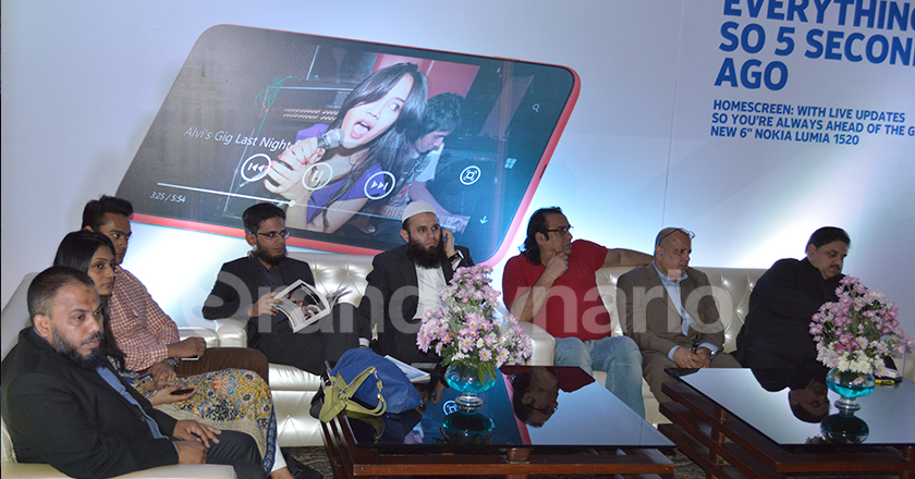 Nokia Brings Lumia 1520 1320 and First Travel Show in Pakistan