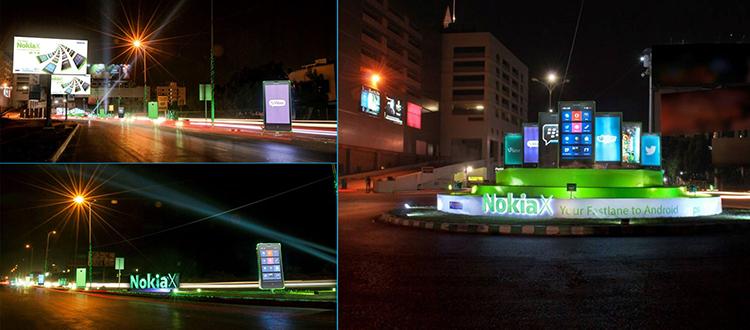 Nokia X OOH