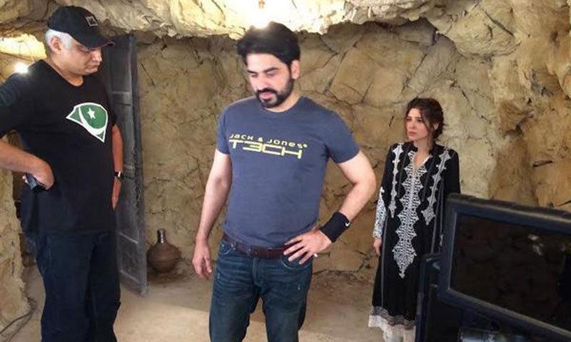 On set of Yalghaar [2]