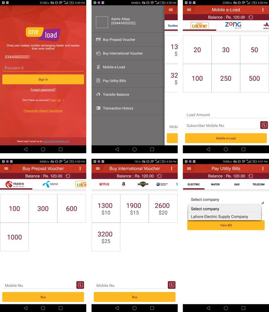 One_Load App.Brandsynario