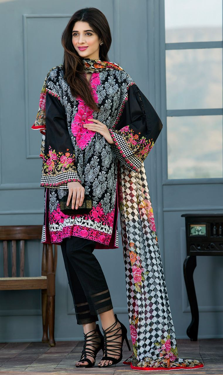 Orient Textiles Lawn Collection 2017 3 piece