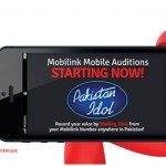 Pakistan Idol: Mobilink Facilitates its Users to Audition Via Mobile