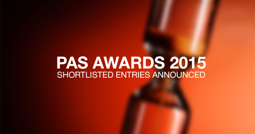 PAS Awards 2015 Shortlisted Entries Announced