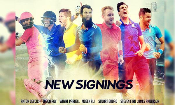 PSL 2017 Players Draft: Mooen Ali, James Anderson, Steve