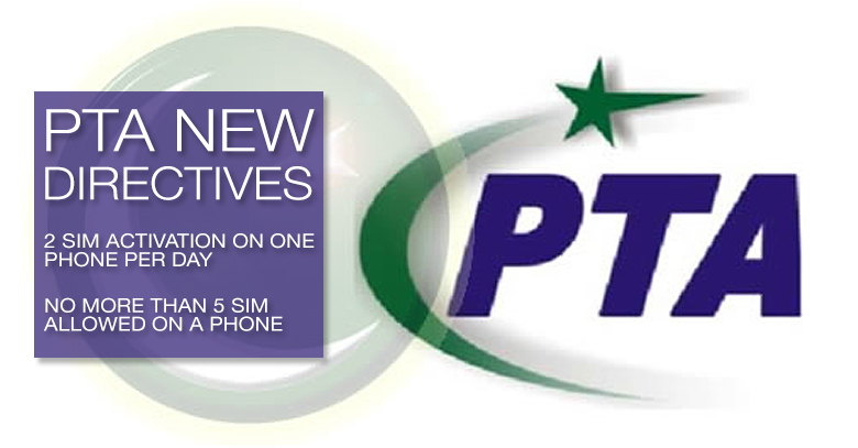 PTAS NEW REGULATION FOR NEW SIM SALES AND PHONES