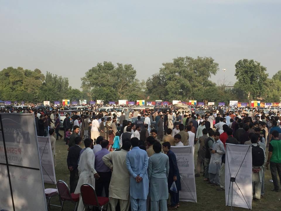 Pak Wheels Auto Show Peshawar 2015 (1)