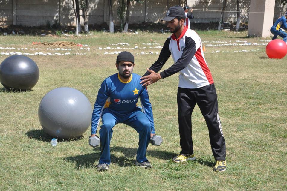 Pakistan cricket team army training boot camp 2