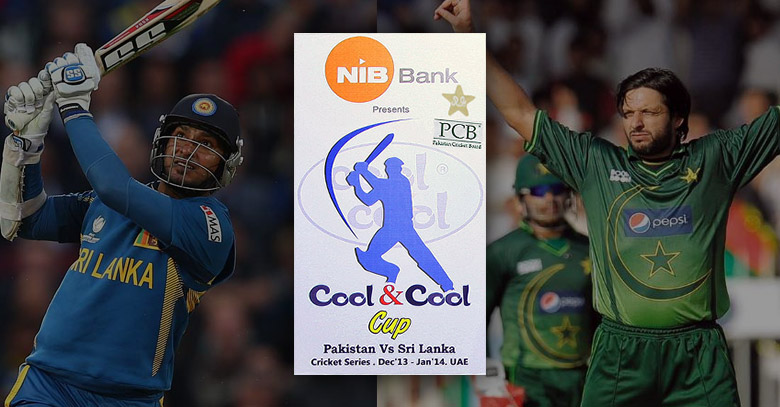 Pakistan vs Sri Lanka sponsored by NIB Bank and Zong
