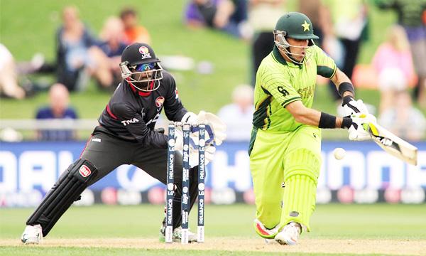 Pakistan-vs UAE lead