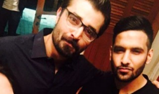 Pakistani-celebrities-on-set-of-Mann-Mayal