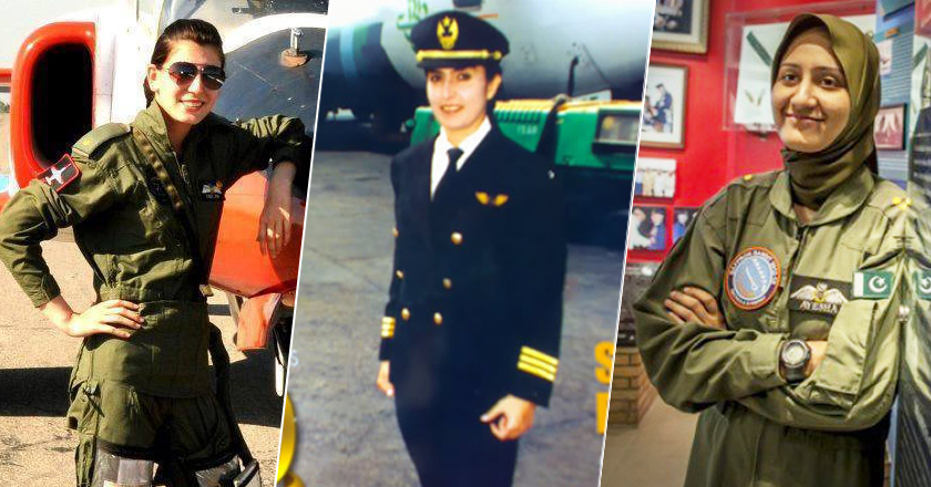14 Pakistani Female Pilots Who Dared to Conquer the Skies