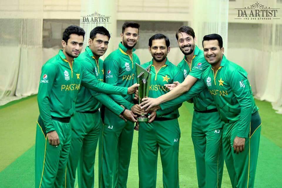 Pakistani team kit