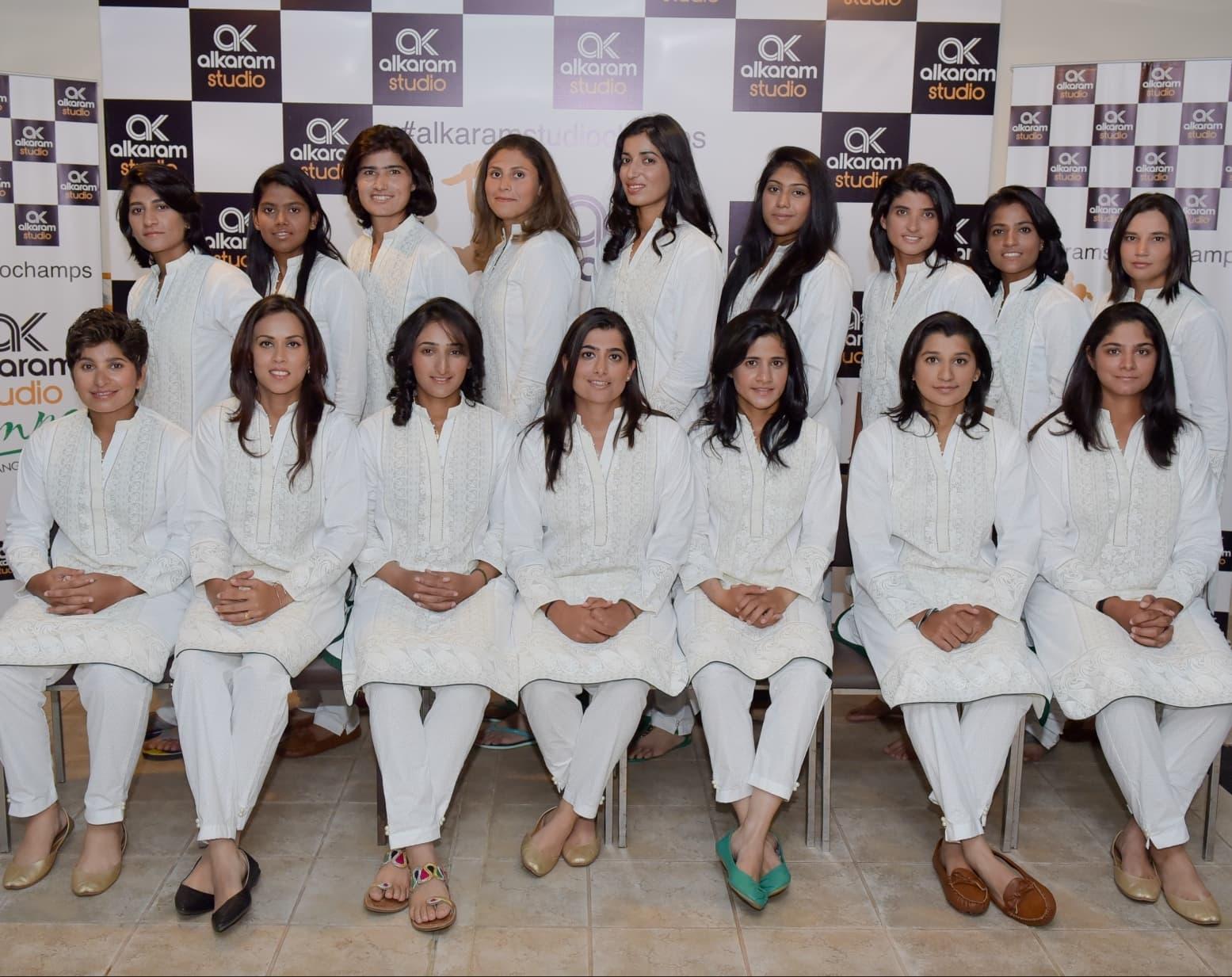 Pakistani women cricket team 5