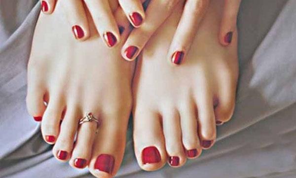 Pedicured Feet 2