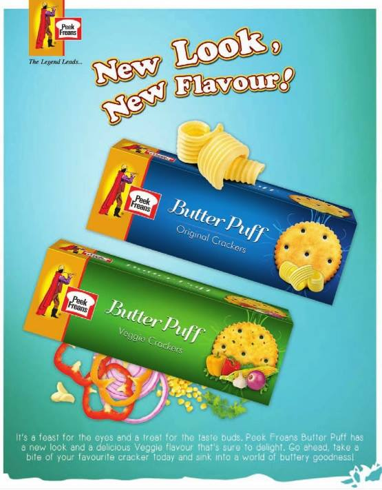Peek Freans Butter Puff - New Look New Flavour