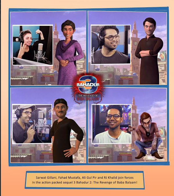 [Press Release] The first look for '3 Bahadur The Revenge of Baba Balaam'