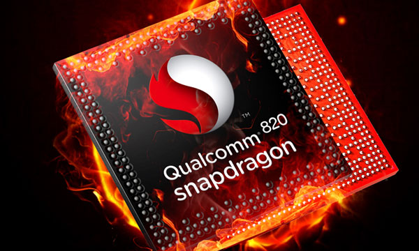 Quad Core Snapdragon 820 processor