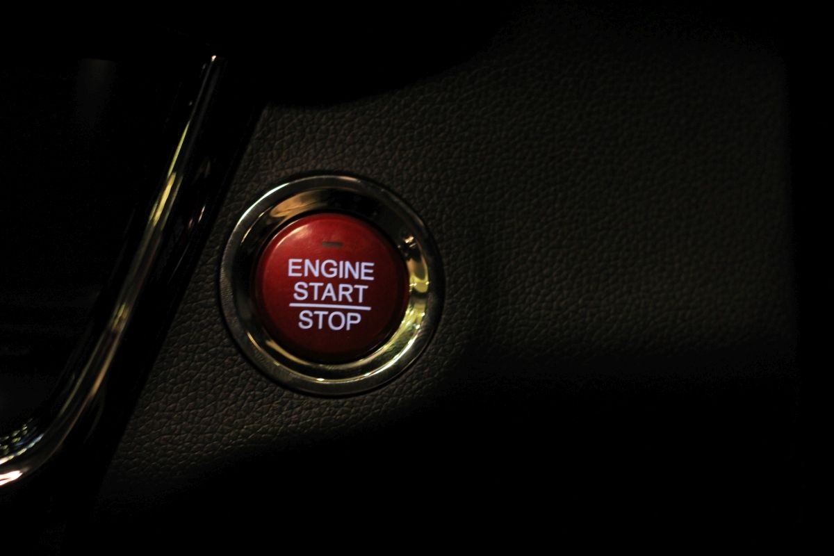 Push Start Engine.Brandsynario