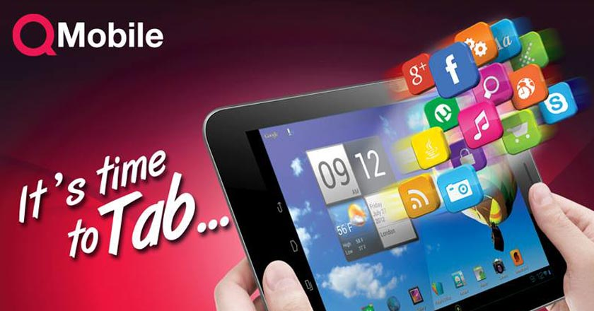 QMobile Launches First Tablet Specs and Price
