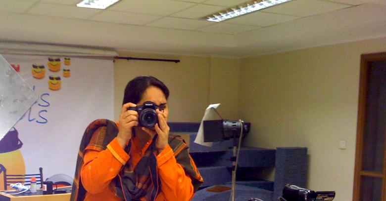 Rabia Garib talks of Blogging and Awarding