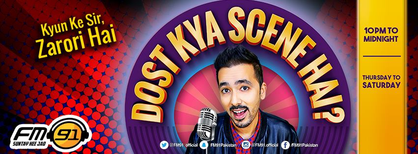 radio-fm-91-comes-back-with-their-trademark-show-dost-kya-scene-hai