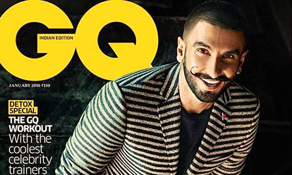Ranveer-Singh on cover of GQ magazine