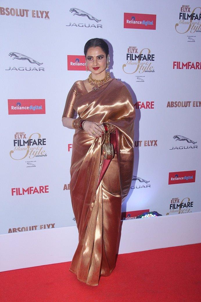 Rekha at Filmfare