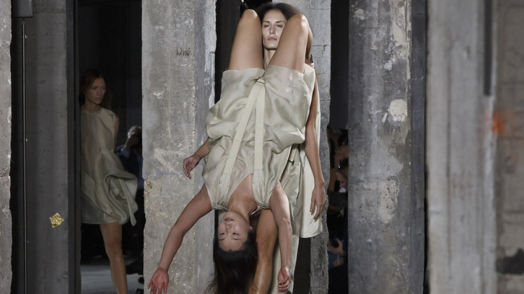 Rick Owens fashion week