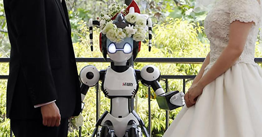 Robot Wedding is the Next Big Thing1