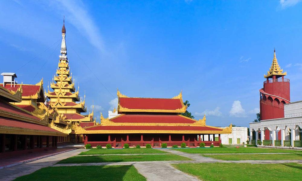 Royal Palace in Mandalay