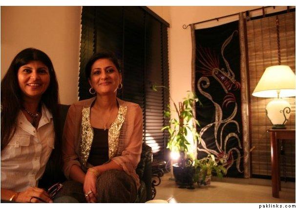 Rubina Ashraf and Saba Hameed