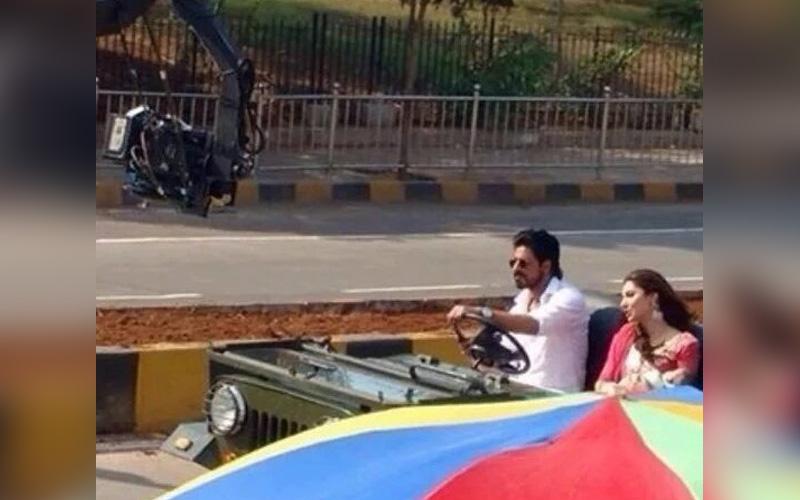 SRK & Mahira Khan in Raees