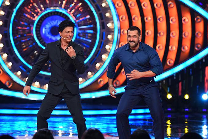 SRK and Salman Khan on Bigg Boss 9