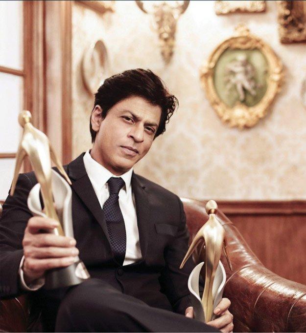 SRK on filmfare