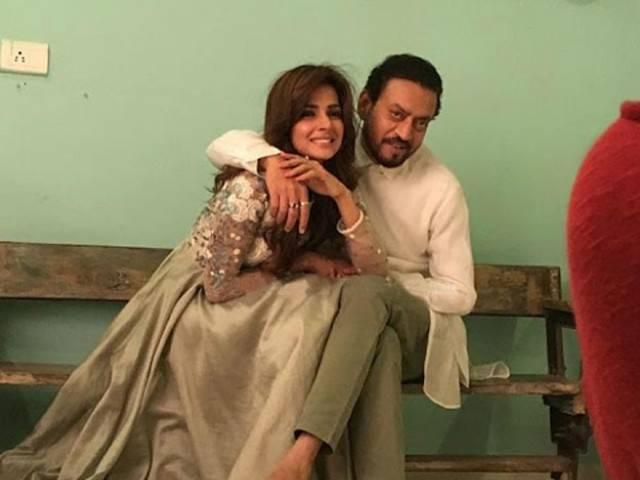 saba qamar bollywood movie quothindi mediumquot ft irrfan khan