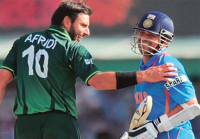 Sachin and Shahid