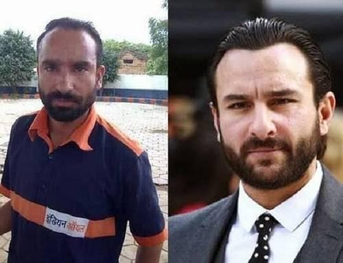 Saif ali khan &Lookalike