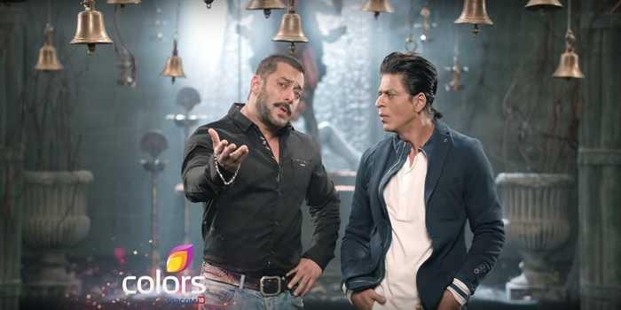 Salman Khan and SRK