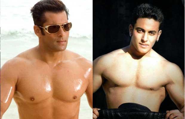 Salman Khan and his lookalike Najeem Khan