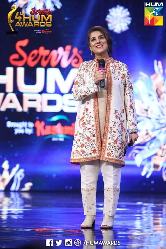 Samina Pirzada At Hum Tv Awards 2016 Brandsynario