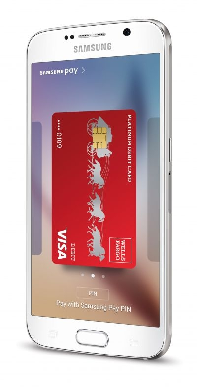 Samsung Pay is now available for Wells Fargo customers in the US