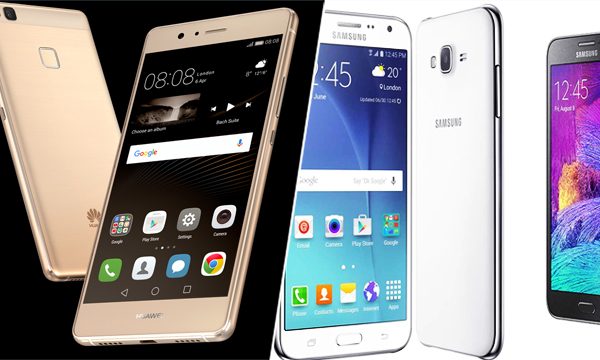 Samsung-j7-and-huawei-p9-lite