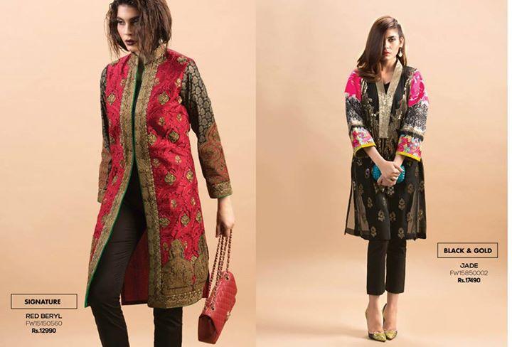 Sana Safinaz Winter Collection (1)