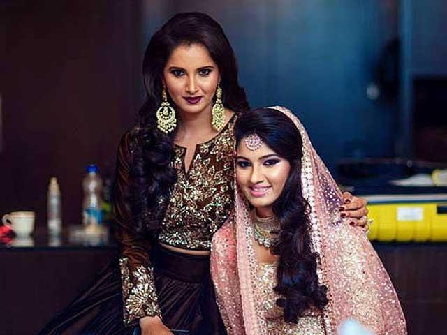 sania-mirza-sister-sangeet-pics