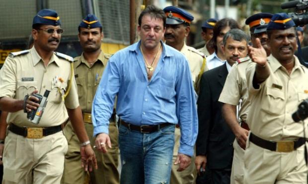 Sanjay Dutt in Prison
